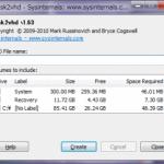 [Disk2vhd] 物理ディスクをVHDファイルに変換する