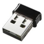 [ロジテック] 超小型無線LANアダプタ「LAN-W150N/U2KT」