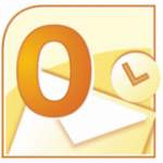 [Outlook2010] タスクトレイのアイコンに赤い× (バツ) が表示されて自動受信されなくなった
