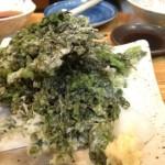 アオサの天ぷら