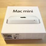 Mac miniの箱