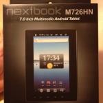 nextbook M726HN箱