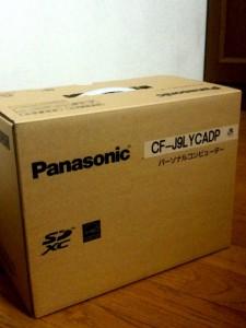 お買い物♪ Panasonic CF-J9