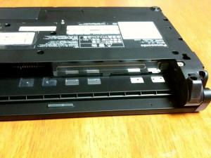 Panasonic CF-J9のHDD を換装する