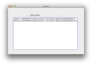 RAD Studio XE4(Delphi) の FireMonkey でファイルをコピーする方法(Windows, Mac 両対応)