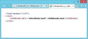 RAD Studio XE4(Delphi) で XML データを作成する方法(Windows のみ)