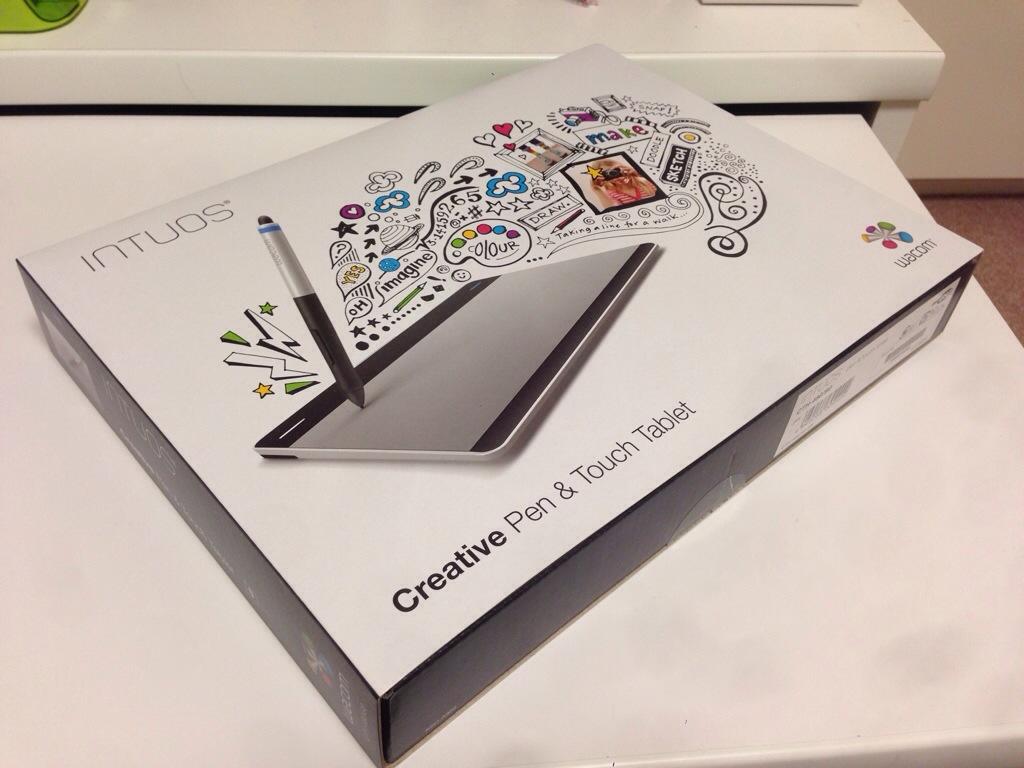 お買い物♪ ペン タブレットとしてもマウスとしても秀逸なwacom Intuos Pen & Touch
