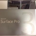 Surface Pro 3 開封1