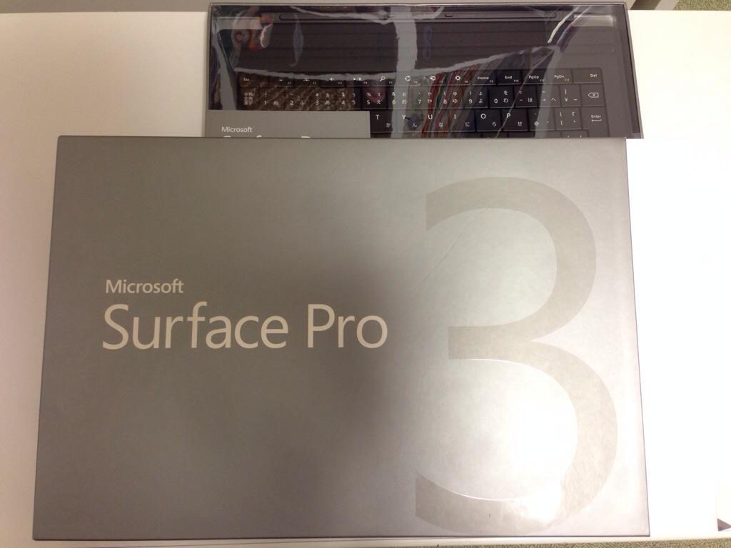お買い物♪ Surface Pro 3