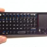 Riitek Rii mini Bluetooth keybord RT-MWK02 キーボード面