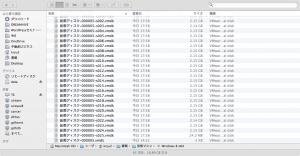 仮想ディスクのファイル名の変更前
