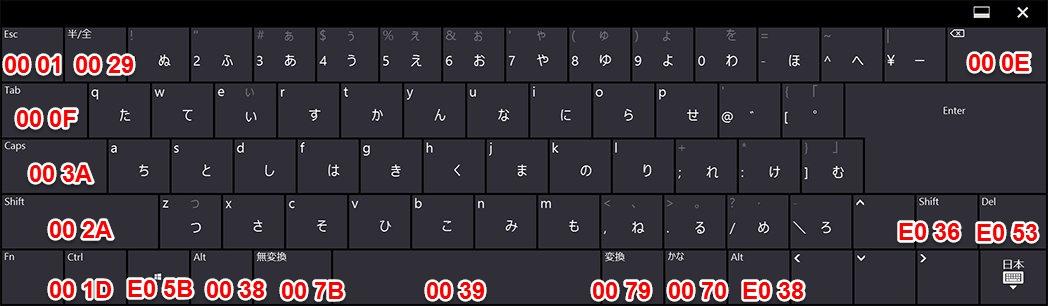 Surface Pro 3 の TypeCover を MacBook Air っぽいキー配列にしてみた