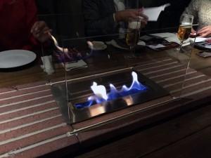 北参道 ラ・カーヴ テーブル
