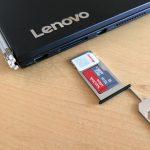 Lenovo YOGA BOOKにフリーテルのデータSIMを挿して使えるようにした