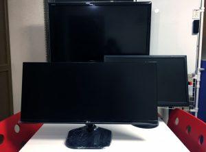 LG モニター ディスプレイ 29UM58-P サイズ比較