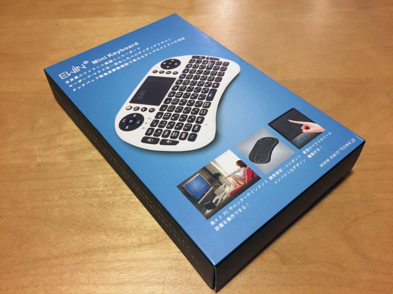 Ewin mini Wireless Keyboard 箱