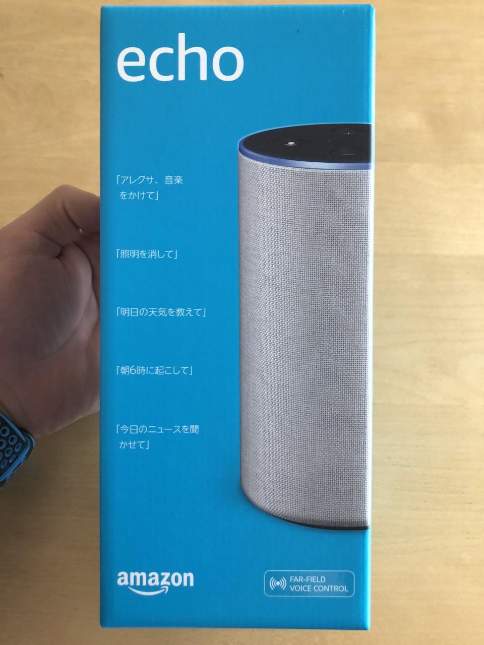 Amazon Echo箱