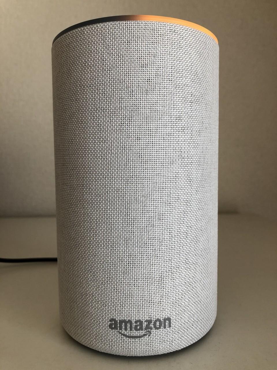 Amazon Echo動作中の本体