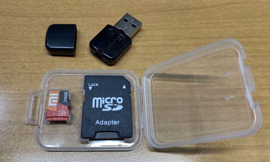 Xiaomi high speed 256GB microSDXC card 10 UHS1 TF memory card