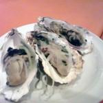 牡蠣の燻製