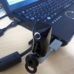 USBで接続!