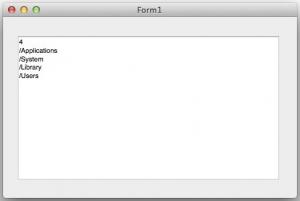 FMX OSXアプリ