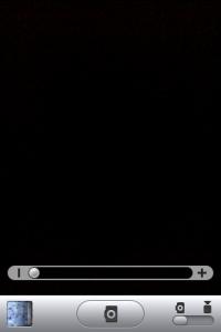 iOS4 カメラのデジタルズーム