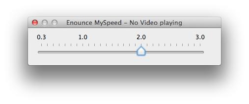 Enounce MySpeed