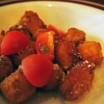 ニョッキとトマト