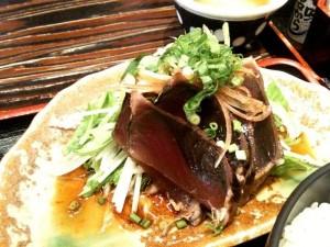鰹のたたき たっぷり香味野菜 生姜ポン酢