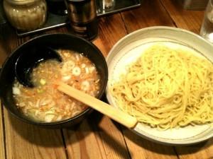 柚子塩つけ麺