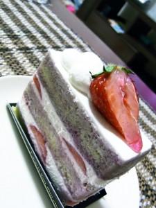 苺のショートケーキ1