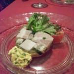 豚バラ肉、豚足パセリのテリーヌ ラヴィコットソース