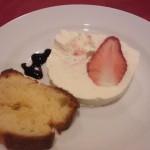 苺とクリームチーズのパルフェグラッセ